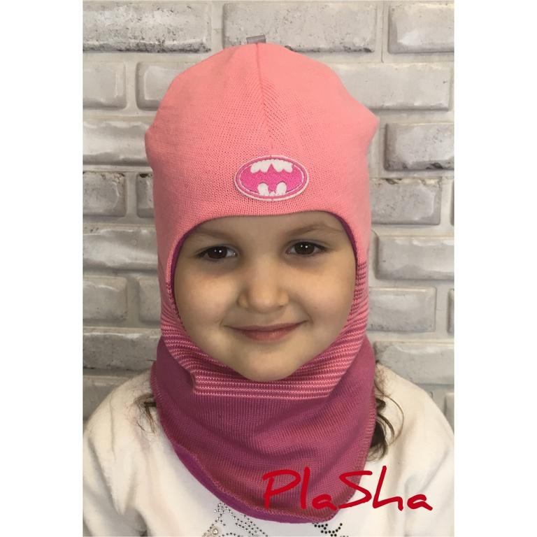 Арт.052 Шлем на флисовом подкладе для девочек