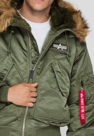 Alpha Industries Куртка 45P Hooded