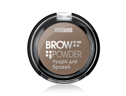 Пудра для бровей LUXVISAGE Brow powder