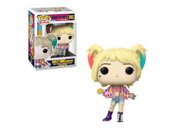 Купить Фигурку Funko Pop Фанко Поп Vinyl: DC: Birds of Prey: Harley Quinn (Caution Tape)