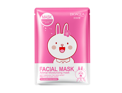 Маска для лица Bioaqua Facial Mask Animal (Заяц), BQY8470