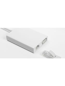 Кабель адаптер Xiaomi USB type-C на Ethernet LAN и VGA cable (USB-c to HDMI and VGA connector)