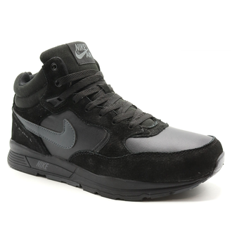 Nike Zoom Mid Leater all Black