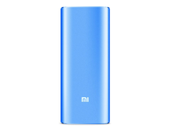 Power Bank Xiaomi 16000 mAh голубой металл