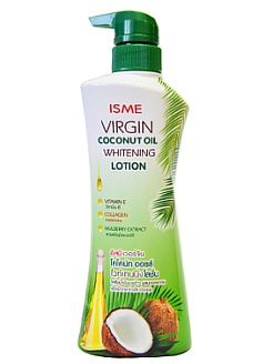 Молочко для тела Virgin coconut oil whitening lotion Isme. 400 мл
