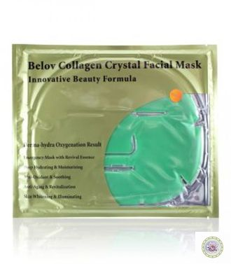 "Коллагеновая маска для лица с алоэ вера ""Collagen Crystal Facial Mask"" от Belov"