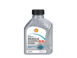 Shell Brake & Clutch Fluid DOT 4 ESL (0,5_литра)