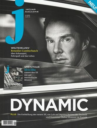 Jaguar Magazine January 2015 Benedict Cumberbatch Cover ИНОСТРАННЫЕ ЖУРНАЛЫ О КИНО