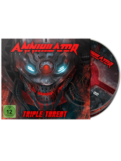 ANNIHILATOR Triple threat 2-CD+BLU-RAY Digi Box