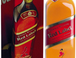 "Виски ""Johnnie Walker"" (Red Label) 0,35 л."
