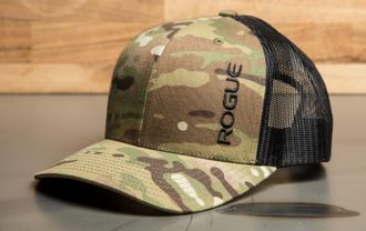 ROGUE MULTICAM SNAPBACK HAT ( Кепка Rogue Fitness ).