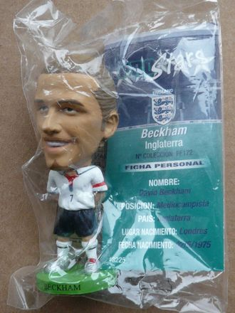 Пластиковый Beckham (National Team) (Cor)