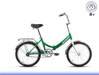 "FORWARD ARSENAL 1.0 20"" (зеленый) Kiddy-Bikes"