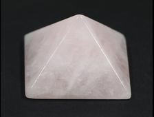 Пирамида Кварц розовый, Бразилия (37*37*23 мм, вес: 37 г) №19940