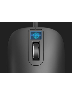 Компьютерная мышь Xiaomi Fingerprint smart fingerprint mouse черная