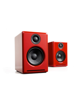 Audioengine A2+ Red в soundwavestore-company.ru