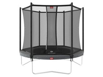 Батут BERG Favorit Regular 270 Grey + Safety Net Comfort