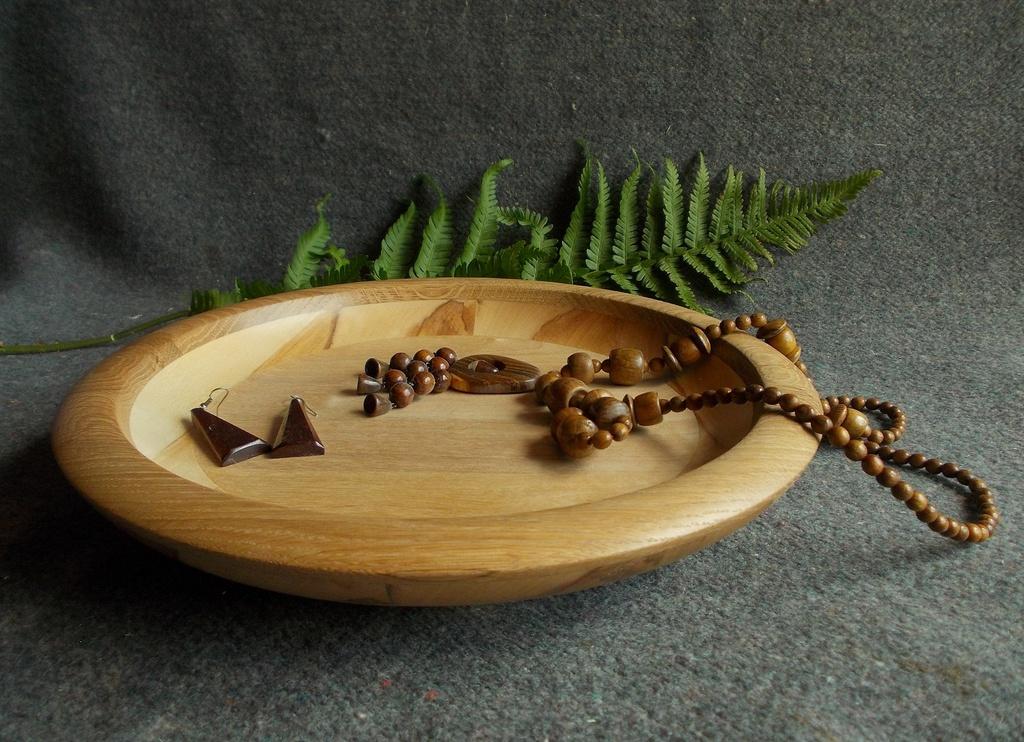 Деревянная тарелка, блюдо из дерева, декоративный сувенир из дерева, блюдо под фрукты, Кракотка