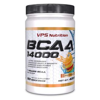 (VPS Nutrition) BCAA 14000 - (550 гр) - (апельсин)