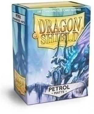 Протекторы Dragon Shield матовые Petrol (100 шт.)