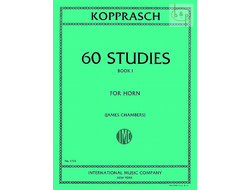 Kopprasch, 60 Studies for Horn (Band I)