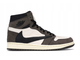 Air Jordan 1 X Travis Scott Mid Khaki/White (Euro 36-45) NAJ-016