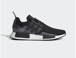 Adidas NMD R1 Black/Gray черно-серые