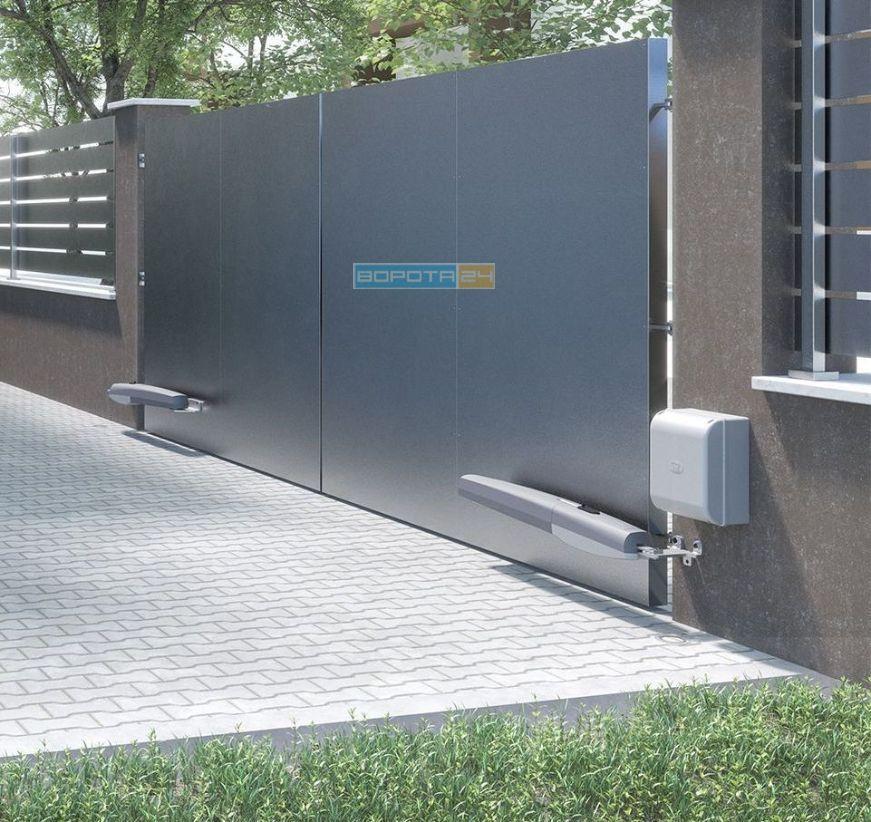 уличные ворота - автоматика - привод из италии - монтаж