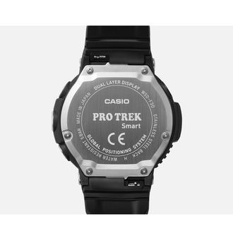 Купить Casio Pro-Trek Smart WSD-F30-BK на умном гаджете