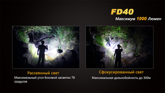 Фонарь Fenix FD40 Cree XP-L HI LED