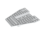 Vehicle, Base 12 x 12 x 1 1/3 with 8 x 4 Recessed Center and 8 Holes, White (43979 / 6287876)