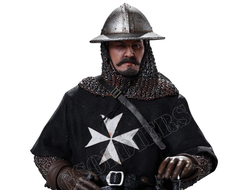 Госпитальер - Коллекционная ФИГУРКА 1/6 scale SERIES OF EMPIRES (DIE-CAST ALLOY) - SERGEANT OF KNIGHTS HOSPITALLER (SE057) - COOMODEL