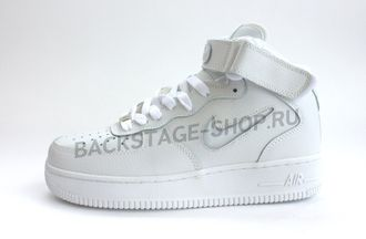 Кроссовки женские Nike Air Force 1 White Mid