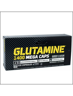 Глютамин Olimp Glutamine 1400 mega caps 120 cap