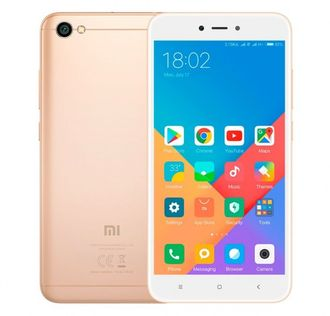 Смартфон Xiaomi Redmi 5a 16gb Gold (золотой)