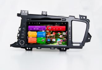 Автомагнитола MegaZvuk T8-8009 Kia Optima (TF) (2010-2013) на Android 7.1.2 Octa-Core (8 ядер) 8""