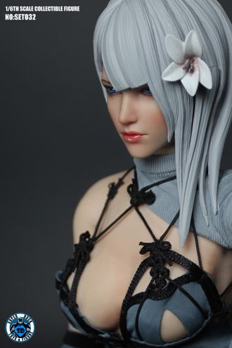 Андроид 2B из игры Nier: Automata КОЛЛЕКЦИОННАЯ ФИГУРКА 1/6 scale Action figure (SET032) SUPER DUCK