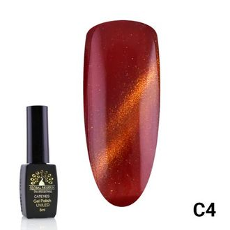 Гель-лак Global Fashion cat eye C4