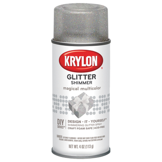 Krylon Glitter Shimmer Magical Multicolor 405