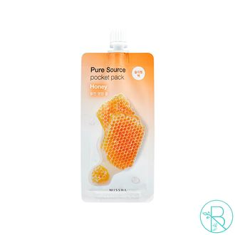 Ночная маска Missha Pure Source Pocket Pack Honey (10мл)