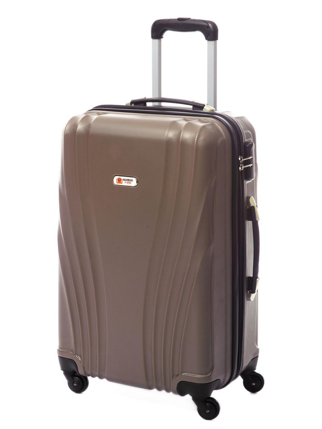 7c89fe51d322 Чемоданы Global Case - Пластиковый чемодан Global Case Коричневый ...