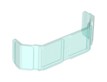 Glass for Train Front 2 x 6 x 2, Trans-Light Blue (17457 / 6080721)
