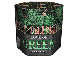 Батарея салютов LOVE OF GREEN SB-19-03 MAXSEM | Neva-Salut.com