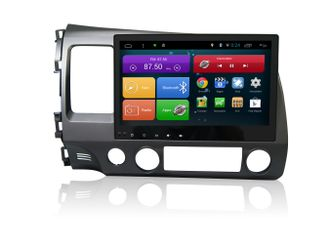 "Автомагнитола MegaZvuk Т8-1054 Honda Civic (2006-2012) на Android 8.1 Octa-Core (8 ядер) 10,1"" Full Touch"