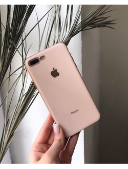 Чехол для iPhone 8/7 Plus пудровый