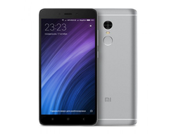 Смартфон Xiaomi Redmi Note 4 64Gb+4Gb Grey (серый)