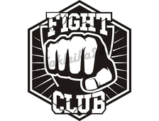 Наклейка Fight club