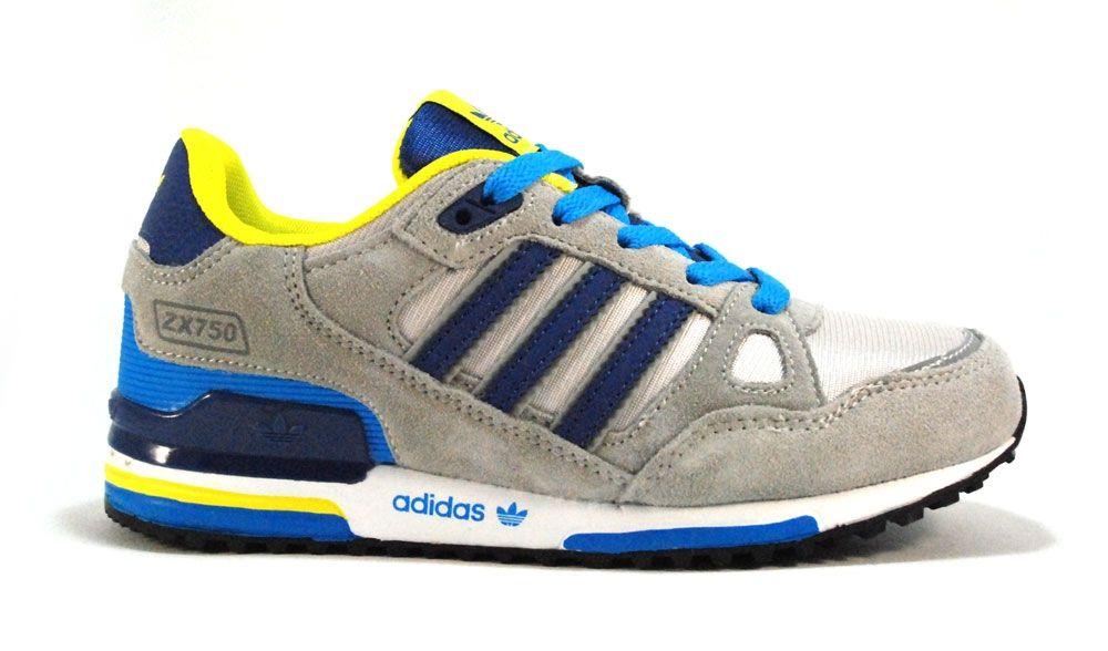 312eb01f Купить кроссовки ADIDAS ZX 750 цветные в наличии в интернет-магазине ...
