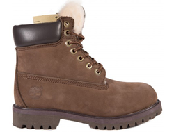 Timberland 10061 Brown с мехом