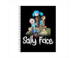 Tетрадь Sally face №9